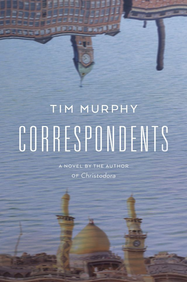 Murphy, Tim CORRESPONDENTS jacket art